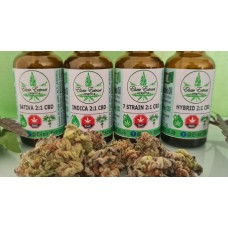 FECO Cannabis Drops - 30ml - Indica 2:1 CBD