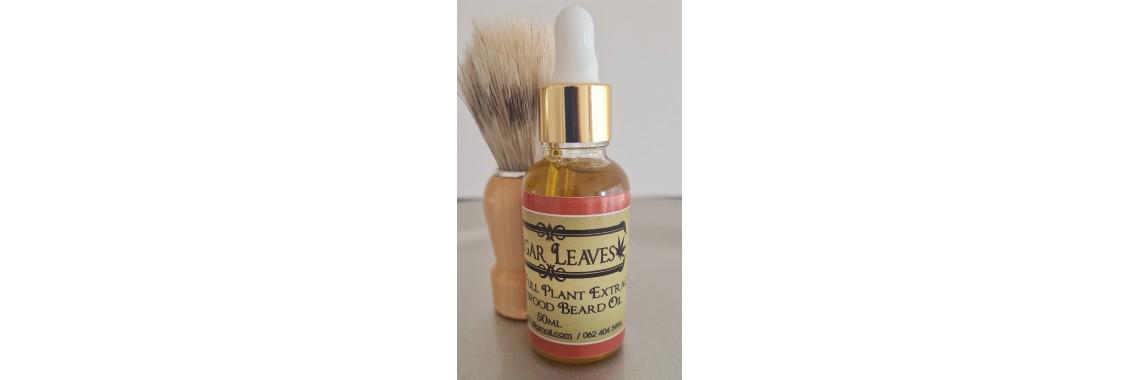 Canna Sandalwood Beard Oil