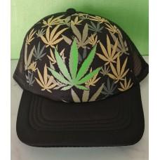 Multi Leave Cannabis Cap
