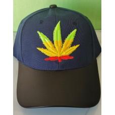Multi Color Cannabis Cap