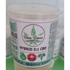 FECO Capsules 31 - Hybrid 3:1 CBD
