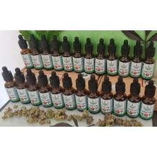 FECO Cannabis Drops - 30ml - Hybrid 1-1 CBD