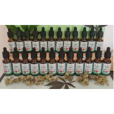 FECO Cannabis Drops - 30ml - Sativa 1:3 CBD
