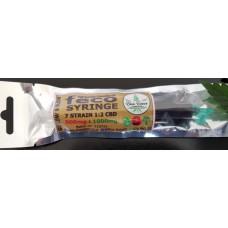 FECO Syringe - 3ml - 7 Strain Blend 1:2 CBD