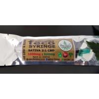 FECO Syringe - 1ml - 7 Strain Blend 2:1 CBD