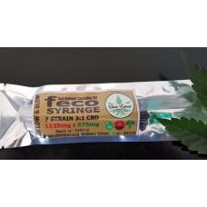FECO Syringe - 1ml - 7 Strain Blend 3:1 CBD