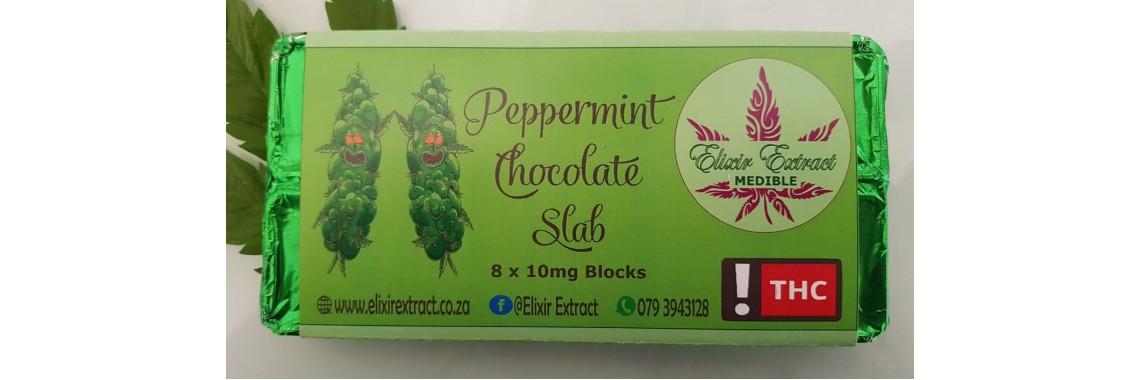 Peppermint Chocolate Slab