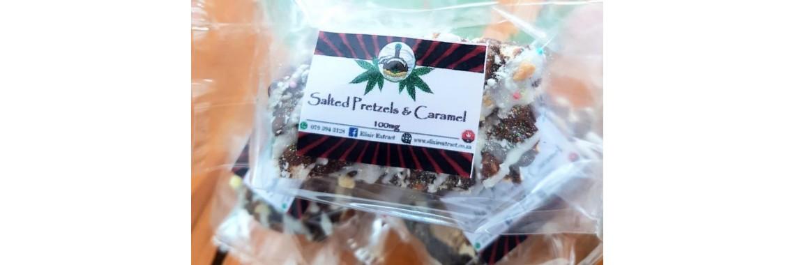 Salted Pretzels & Infused Caramel Bar